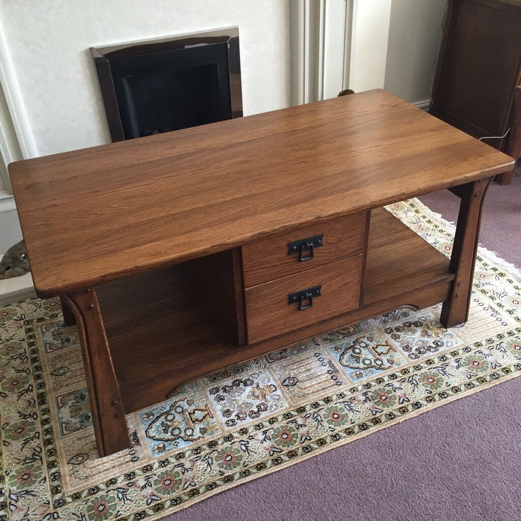 Rossmore sherry occasional coffee table with drawers and for Occasional table with drawers