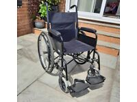 Folding wheelchair for sale very good condition