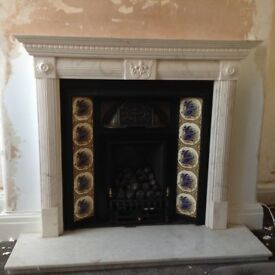 Edwardian style fireplace