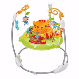 'Roarin' Rainforest' Fisher-Price jumperoo for sale!