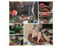 PLAYMOBIL VINTAGE COLLECTION castle ship island