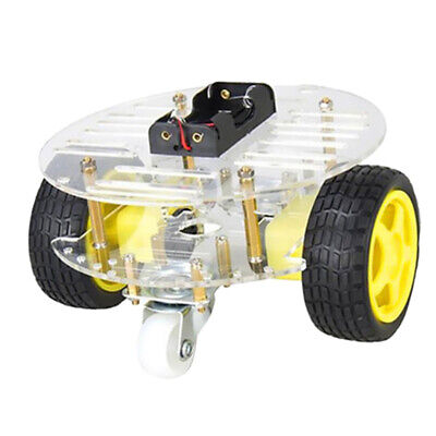 Robot Smart Car Chassis Kits With Speeding-test Code Disks Wheels And Battery