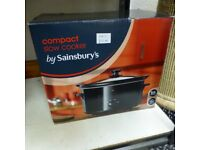 SAINSBURYS SLOW COOKER NEW