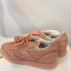 Pale Pink Reebok Trainers