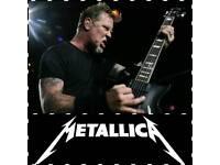 Metallica Standing Ticket for Birmingham Genting Arena 30/10/17