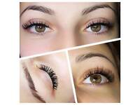 Semi- Permanent Eyelash Extensions
