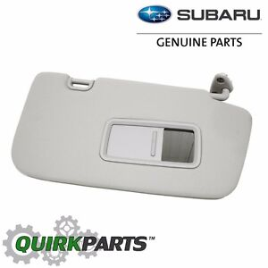 OEM 08-11 Subaru Impreza 08-14 WRX STi Right Sun Visor Mirror NEW 92011FG042ME