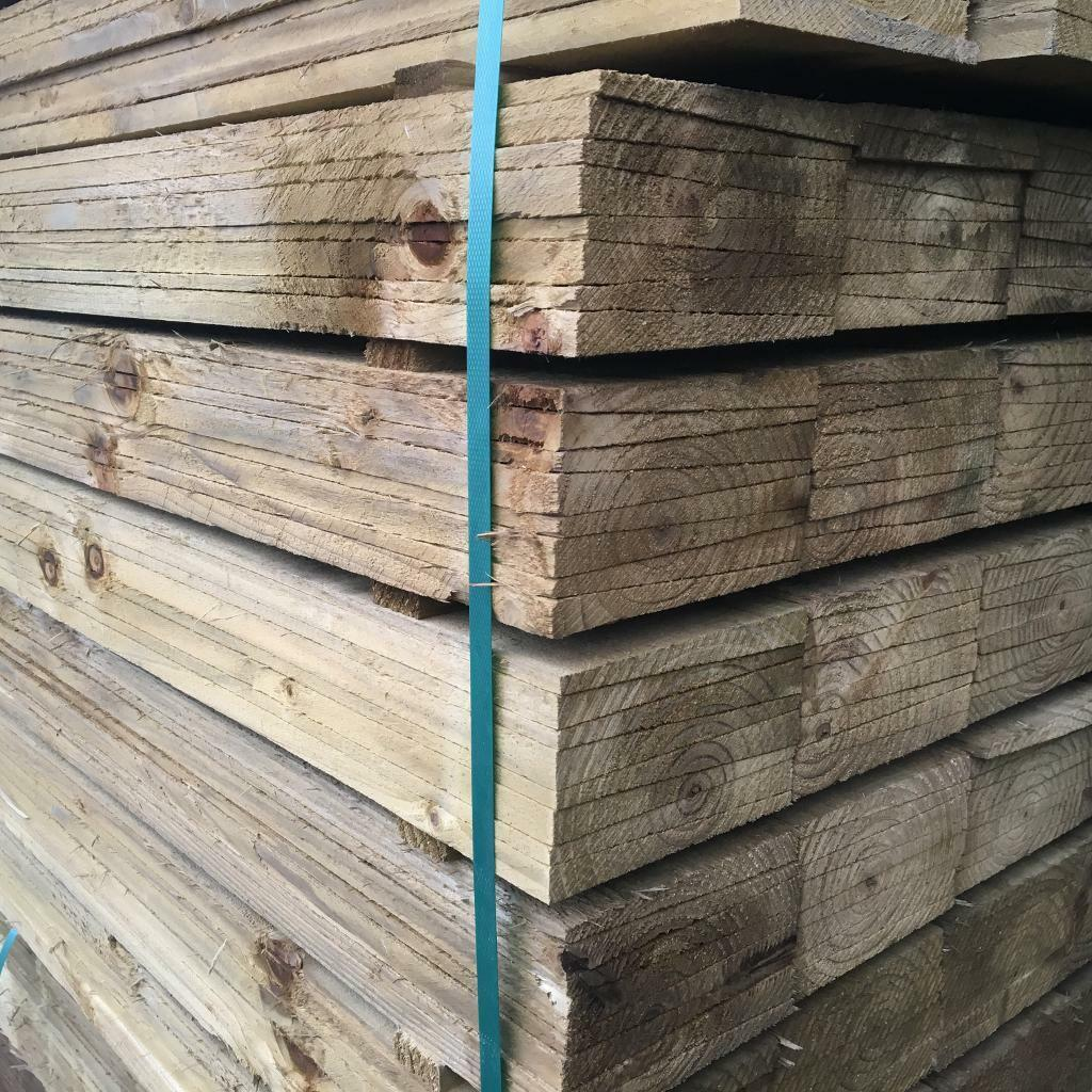🌳Tanalised High Quality Feather Edge Fencing Pieces/ Panels * Various Sizes 🌳