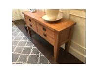 Oak Sideboard with four drawers