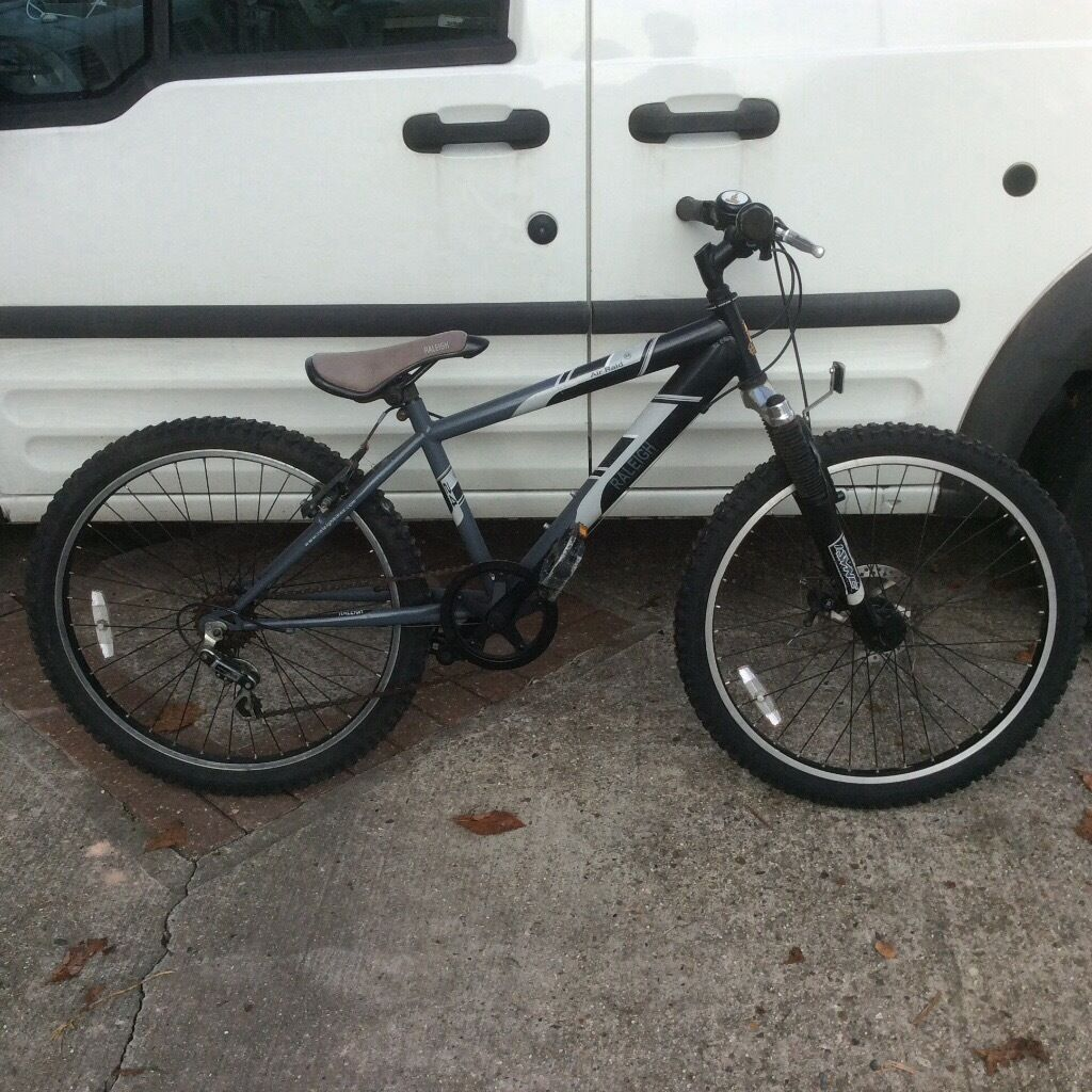 Boys black Rayleigh bike