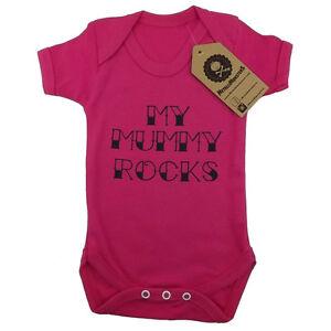 Metallimonsters My Mummy Rocks Vest Pink alternative rock