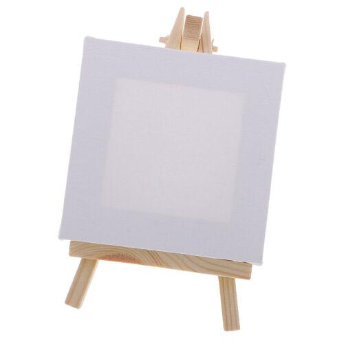 art supply 3x3 inch mini canvas