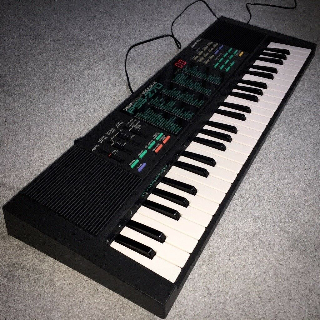 yamaha pss 270 portasound keyboard mini keys great condition rh gumtree com yamaha psr 270 manual español yamaha pss-270 specifications
