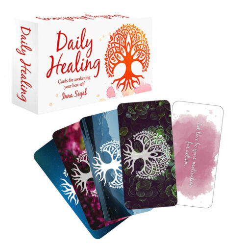 Daily Healing Cards NEW Mini Oracle Deck in Magnetic Box by Inna Segal (2019)
