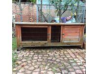 Guineapig/rabbit hutch