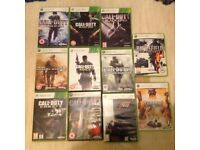Xbox 360 Games for sale.........£15