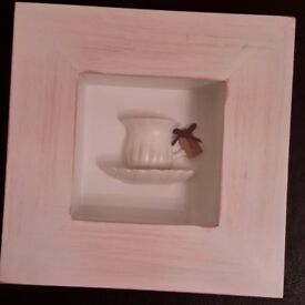 NEXT Framed Teacup and Saucer 3D Picture