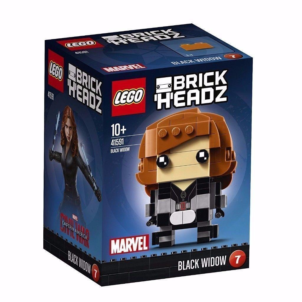 Lego BrickHeadz Black Widow 41591: Brand New
