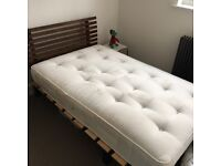 Small double bed, also known as 3/4 bed or 4 foot bed (between single and double)