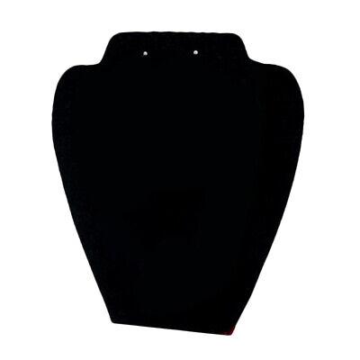 Necklace Pendant Display Holder Stand Velvet Easel Organizer Rack 32x10cm