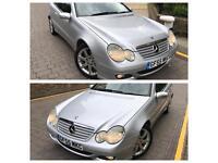 Mercedes c220 cdi se facelift diesel auto coupe