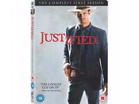 New and Sealed Justified - Series 1 (SET OF 3 DVD) ONLY £12.00