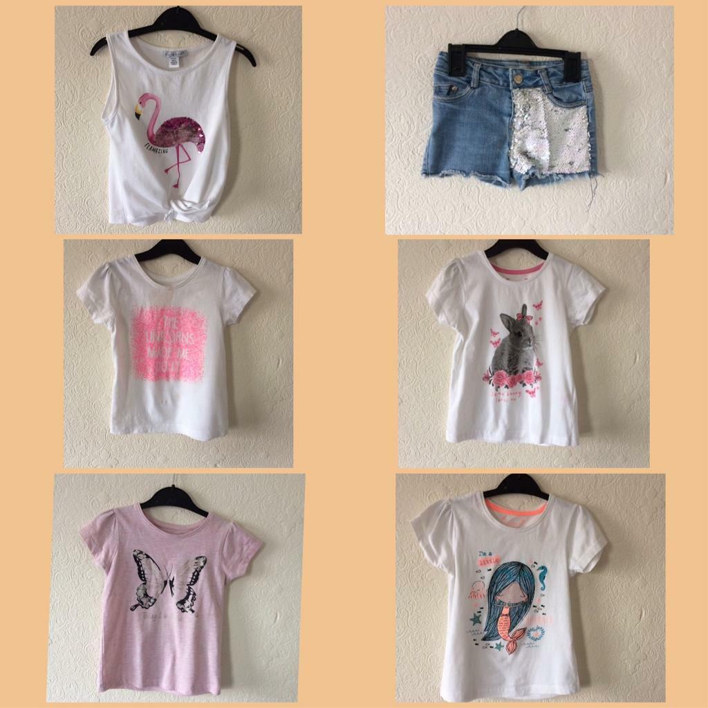 82594d1fe4af Girls age 4-5 years summer clothes bundle