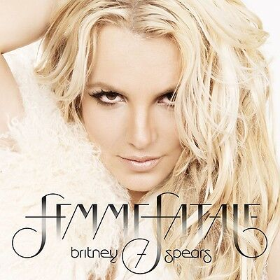 BRITNEY SPEARS Femme Fatale CD BRAND NEW