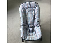 Mothercare baby rocking seat in good,clean condition, from a non-smoking, pet free home.