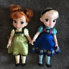 Elsa and Anna Animator collection.