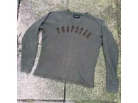 Trapstar sweatshirt jumper size small