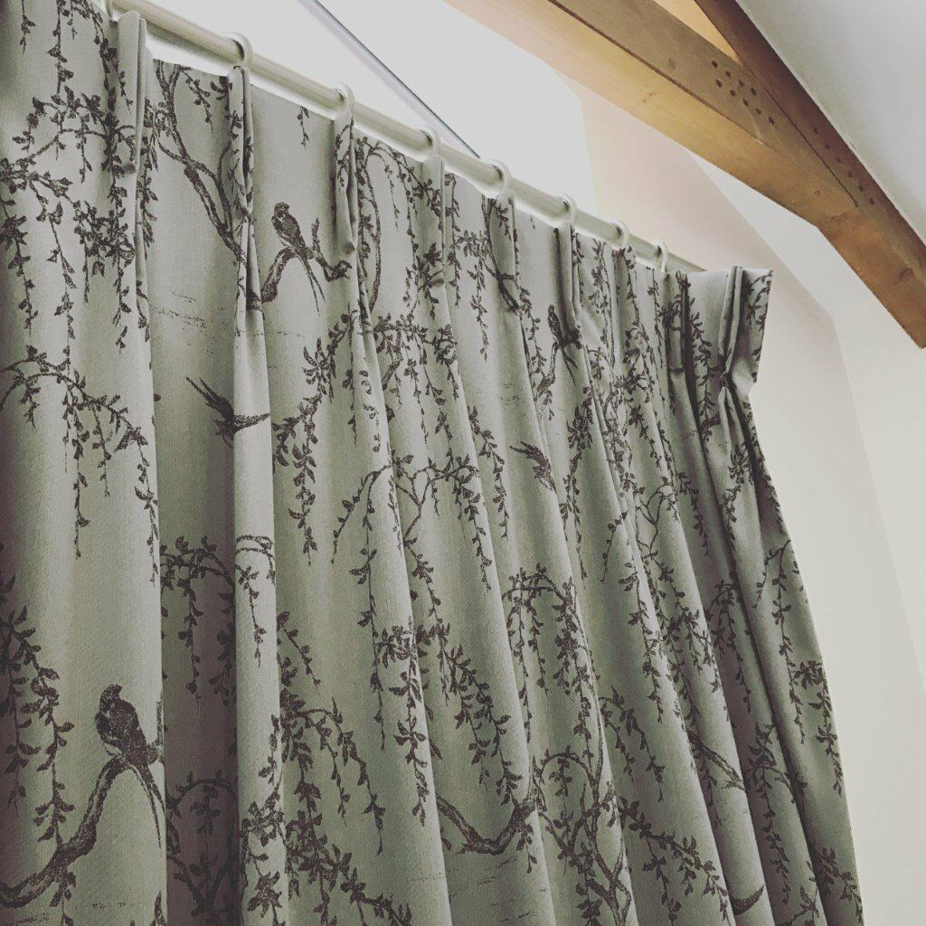 Laura Ashley Weeping Willow Curtains Brand New Cost over £700