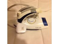 Electric travel steam iron, as new