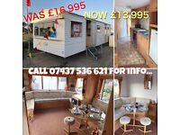 Starter Caravan Now Reduced at Southerness Holiday Park