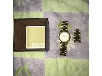 Genuine Michael Kors Gold Watch