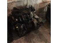 1999 renault clio engine and gearbox