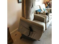 Electric riser, recliner armchair