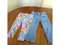 Child's trousers and leggings