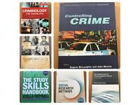 Criminology (6 core textbooks) university