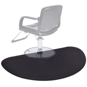 Black Semi Circle 5x3 1/2 Barber Salon Anti Fatigue Floor Mat Beauty Supplier - BRAND NEW - FREE SHIPPING