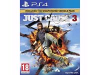 Just Cause 3 Day 1 Edition (PS4) Like New