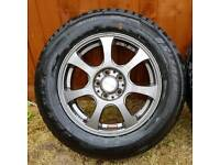 "15"" GENUINE JDM ALLOY WHEELS WITH TYRES 5X100"