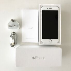 iPhone 6 - 64GB - white - unlocked - excellent condition