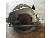 Stanley circular saw. Heavy Duty. Spares or repair