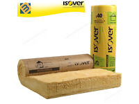 Isover Acoustic Partition Roll Insulation Roll Wall Floor Loft Roll | 25mm 50mm 65mm 75mm 100mm