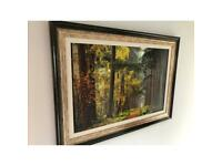 Framed Printed Woodland Picture