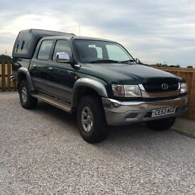 Toyota Hilux VX 4WD Double Cab with Truckman Hitop and working Tow Bar