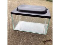 Small glass tank , fish , mice , reptiles etc possible free delivery