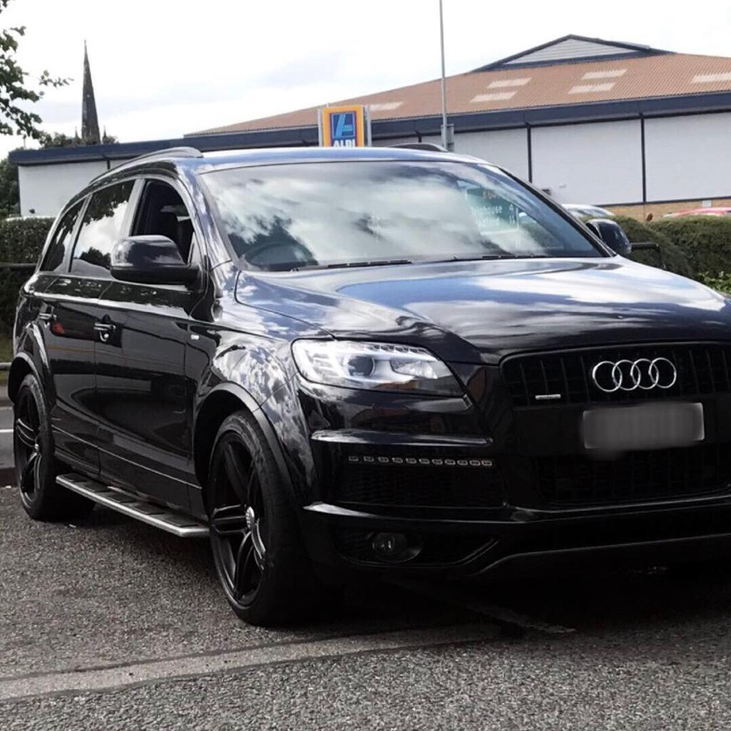 audi q7 3 0 tdi s line black edition tiptronic quattro part ex available in huddersfield. Black Bedroom Furniture Sets. Home Design Ideas
