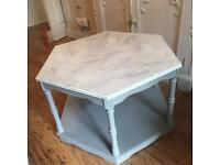 Shabby chic up-cycled table